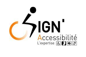 Signalétique et respect de la réglementation d'accessibilité - Semios