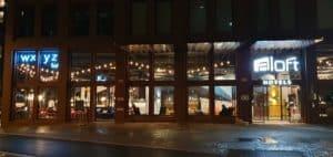 Aloft hotels Strasbourg enseignes lumineuses
