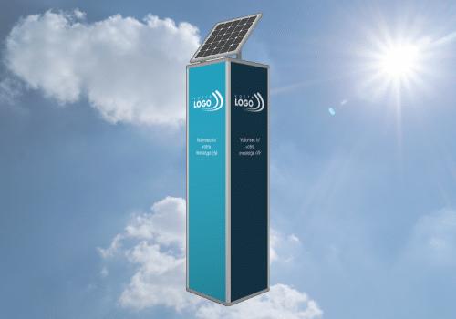 Totem à énergie solaire Semiosun by Semios