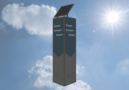 Totem solaire Semiosun Semios